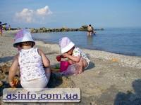 Азовское море отдых с детьми