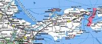 Азовское море. Карта
