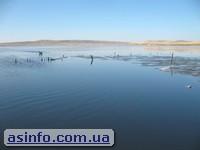Озеро Чокрак. Азовское море.