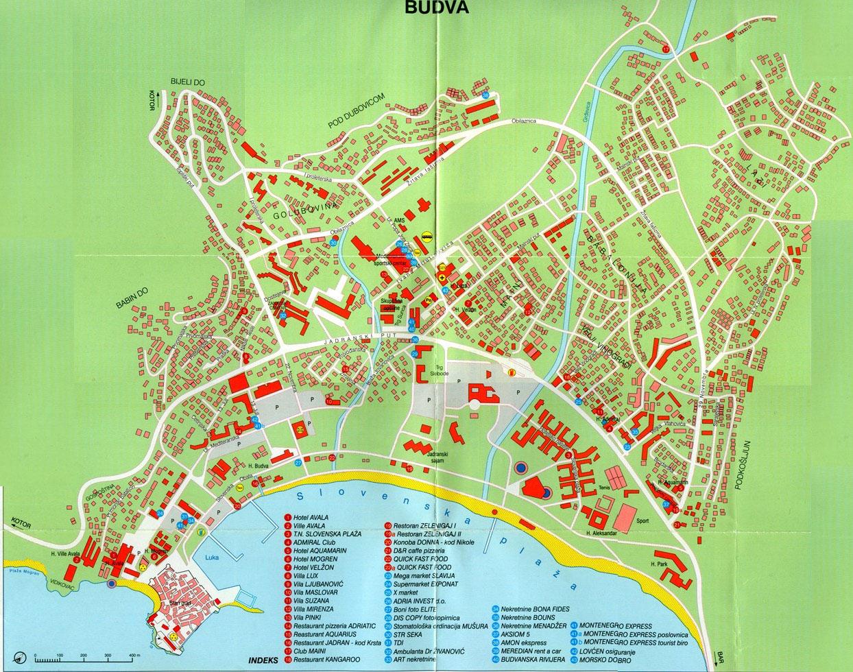 Карта Белосарайская Коса Подробная