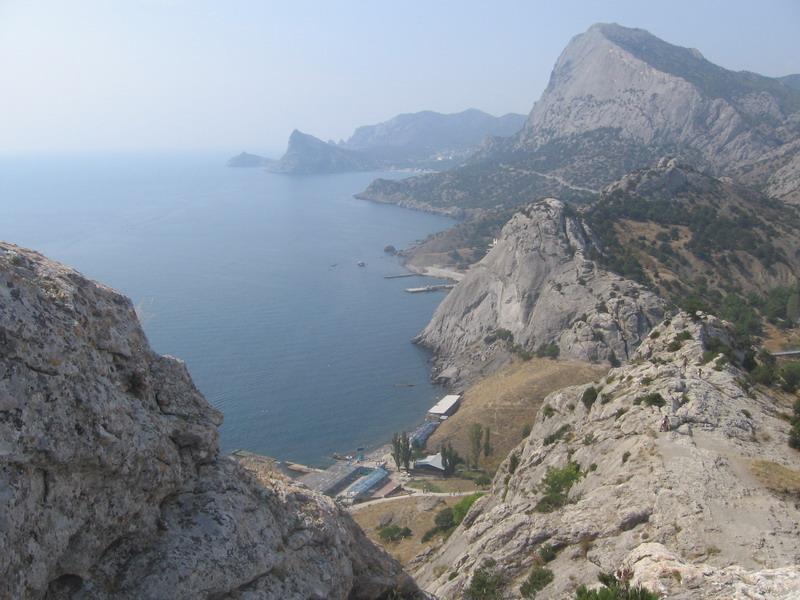 Генуэзская крепость. Вид с площадки