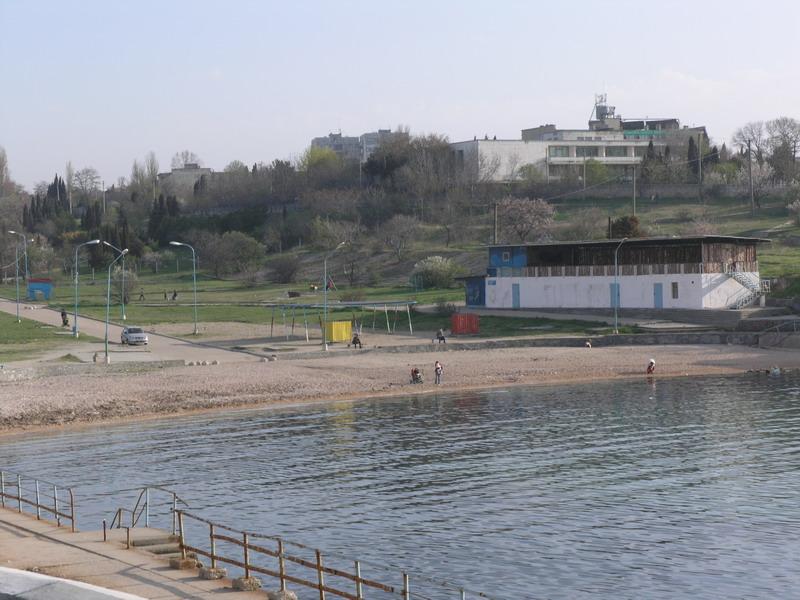 Севастополь. Пляж возле Херсонеса