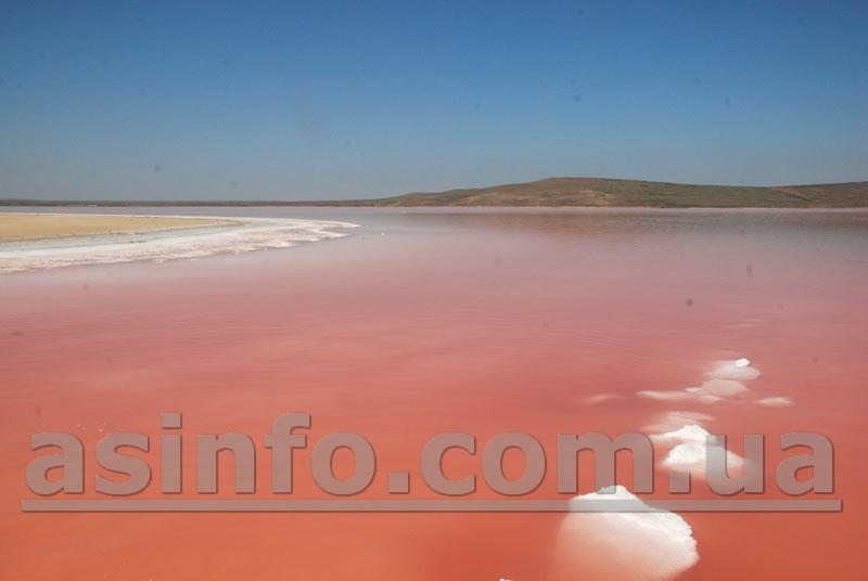 Кояшское озеро. Соль