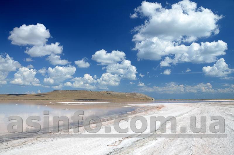 мыс Опук. Кояшское озеро