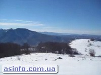 Нижнее плато Чатыр-дага. Горнолыжные трассы