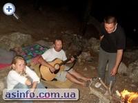 Палаточный городок Спелеолог. Мыс Айя. Крым