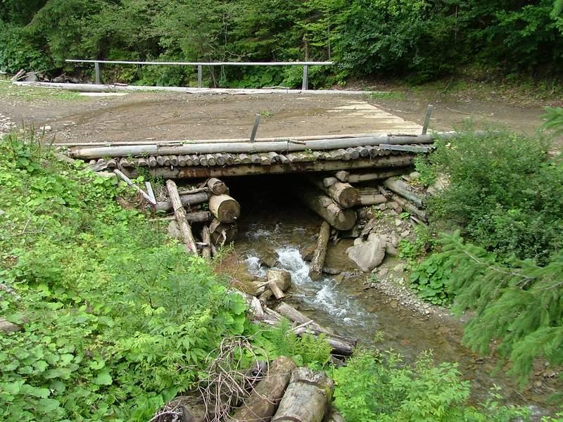 Мост через ручей своими руками 50