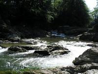 Шешоры. Серебристые водопады. Фото дня