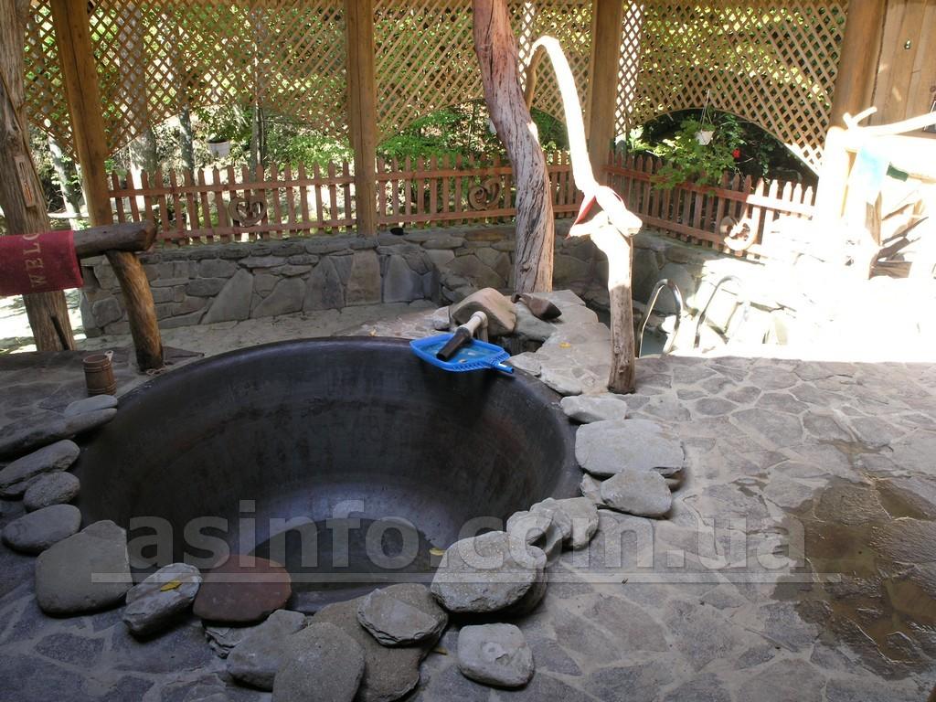С лумшоры чан с мин водой