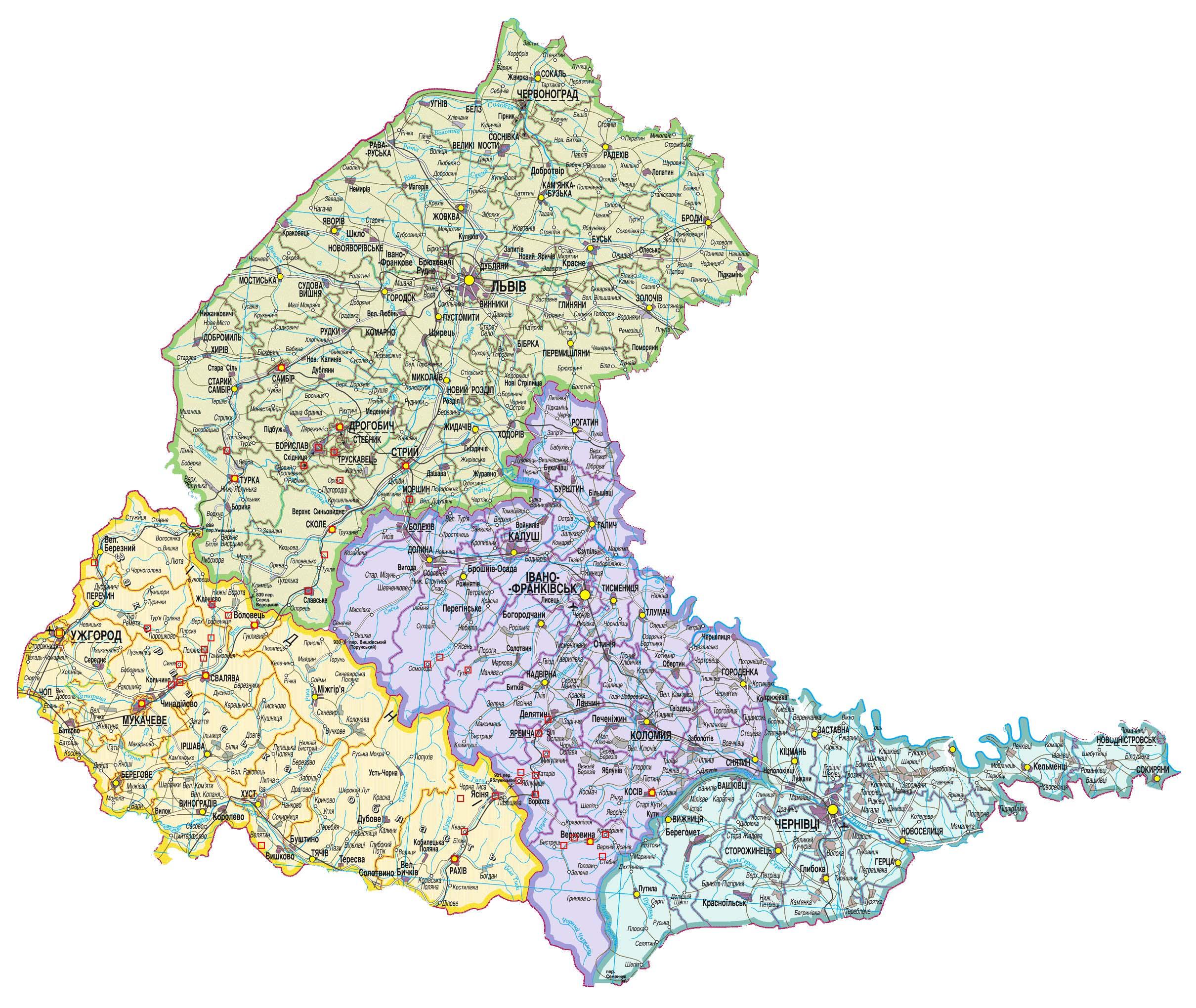 pobedpix.com / Карпаты Карта: http://pobedpix.com/karpaty-karta
