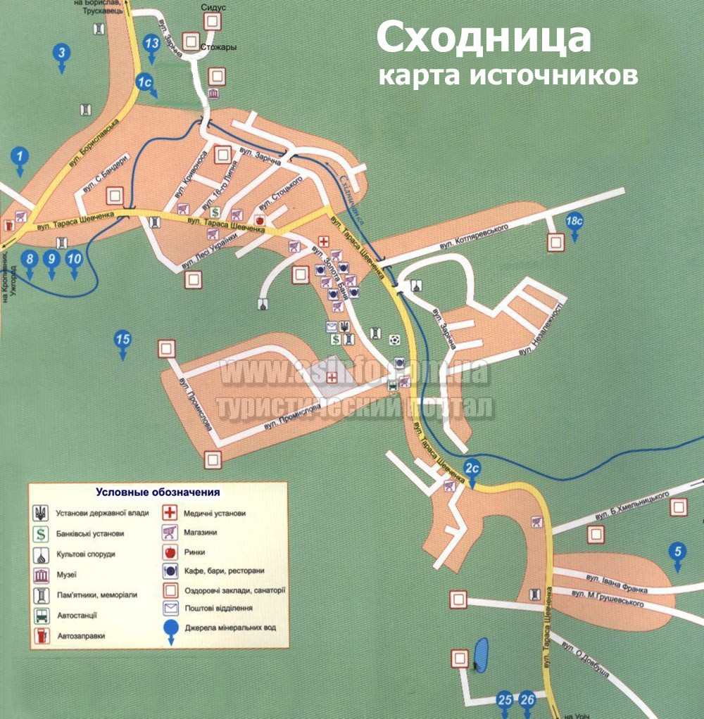 Карта Сходницы: http://asinfo.com.ua/karpaty/article.php?id=524&sid=775