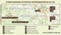 Горнолыжные курорты Черновицкой области