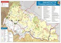 Туристическая карта Закарпатья