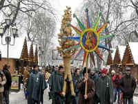 Фото: Рождественские гуляния