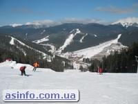 Горные лыжи в Карпатах