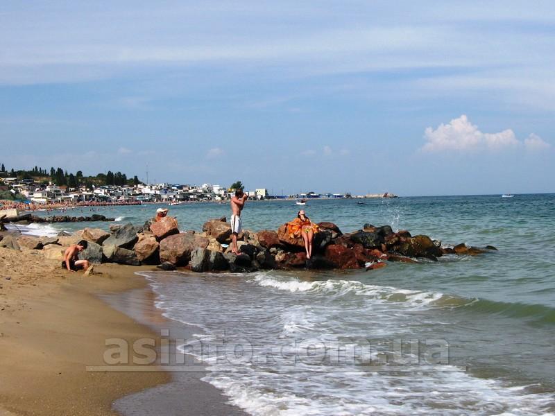 Ильичевск. Пляж Бугово