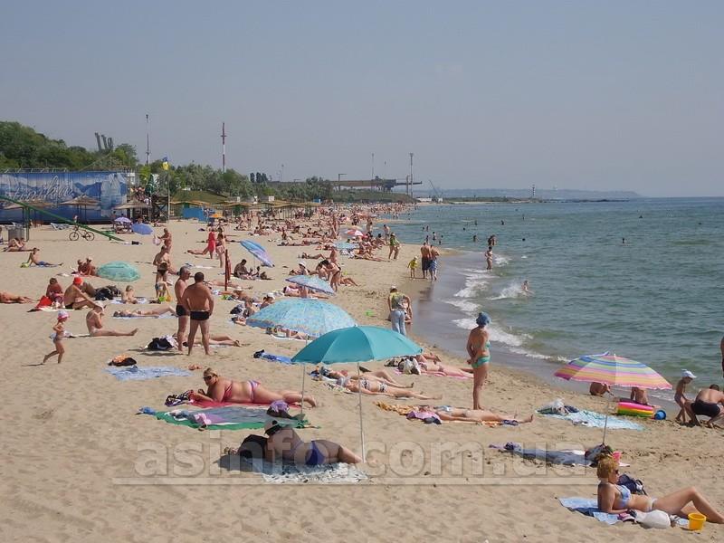 Ильичевск. Пляж
