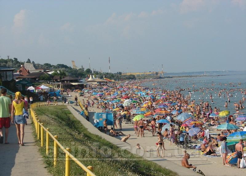 Ильичевск. Городской пляж