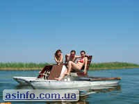 Развлечения на озере Свитязь